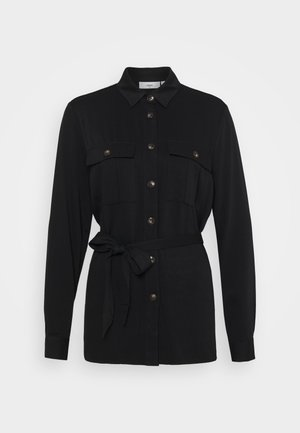 MAGNELA  - Button-down blouse - black