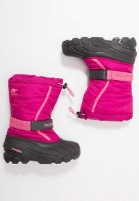 Sorel - YOUTH FLURRY - Snowboot/Winterstiefel - deep blush/tropic pink - 0