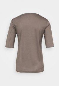 Filippa K - ELENA  TEE - T-shirt basic - dark taupe - 1
