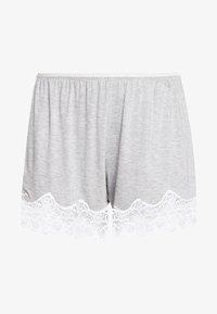 Benetton - SHORTS - Pyjamasbyxor - grey - 3