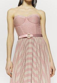 Elisabetta Franchi - Cocktail dress / Party dress - pink/oro - 6