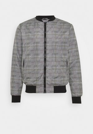 RHODES - Bomber bunda - grey check