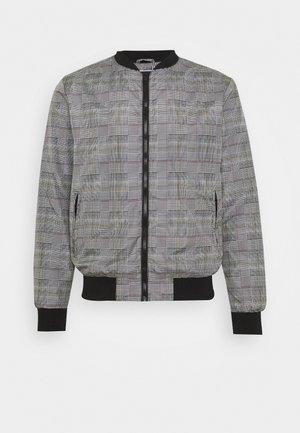RHODES - Bomber Jacket - grey check