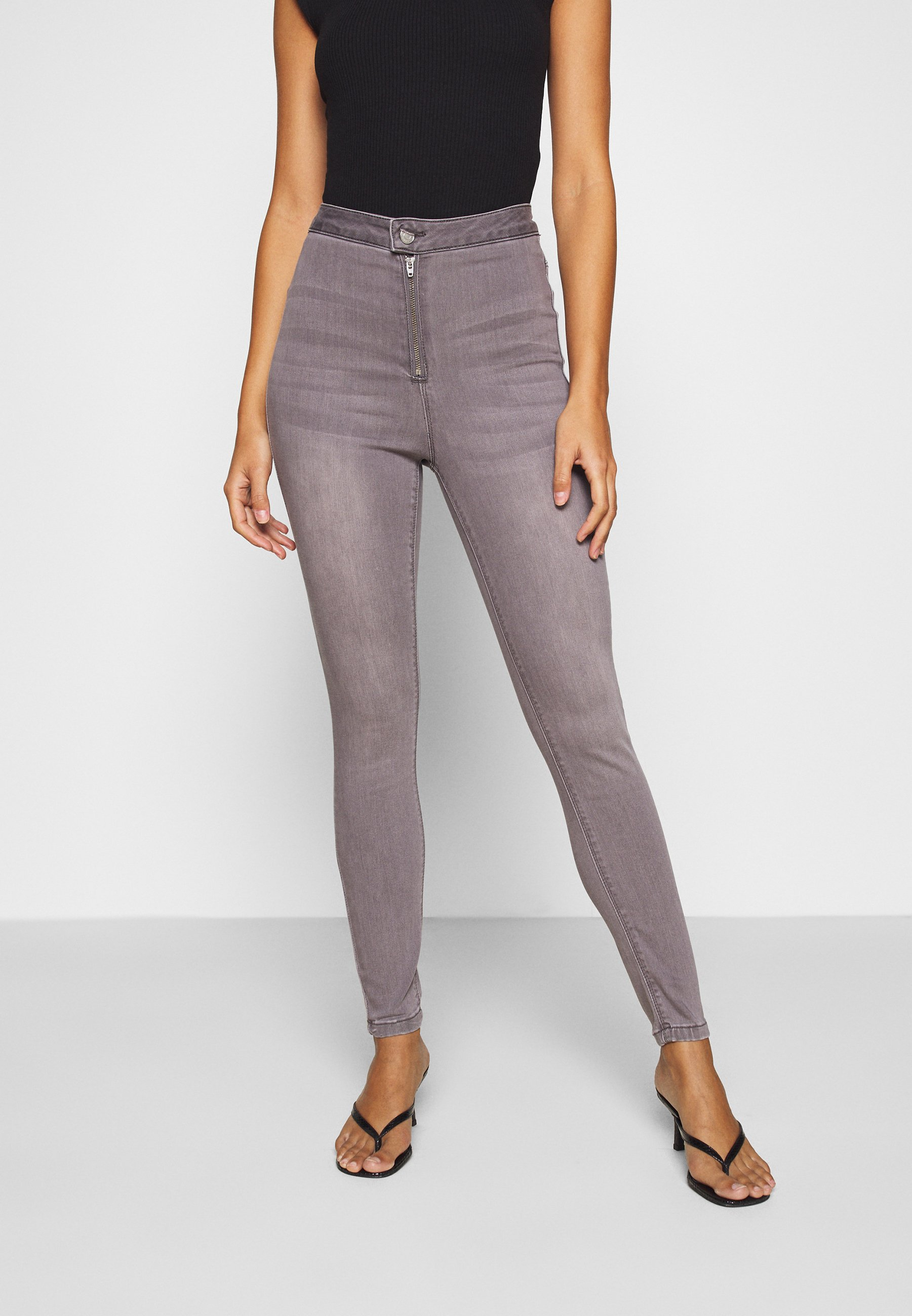 Donna VICE HIGHWAISTED WITHZIP FLY - Jeans Skinny Fit