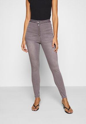 VICE HIGHWAISTED WITHZIP FLY - Jeans Skinny - grey