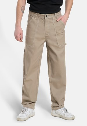 X-TRA WORK PANTS - Jeans Tapered Fit - sand