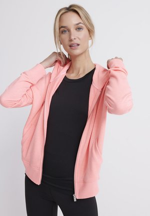 SUPERDRY STUDIO ZIP HOODIE - veste en sweat zippée - pink