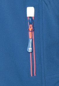 TrollKids - GIRLS TROLLFJORD - Softshellová bunda - midnight blue/coral - 2