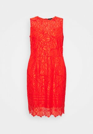 DRESS - Cocktailjurk - red