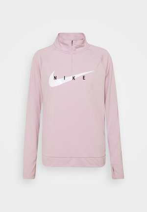 RUN MIDLAYER - Camiseta de deporte - iced lilac/white