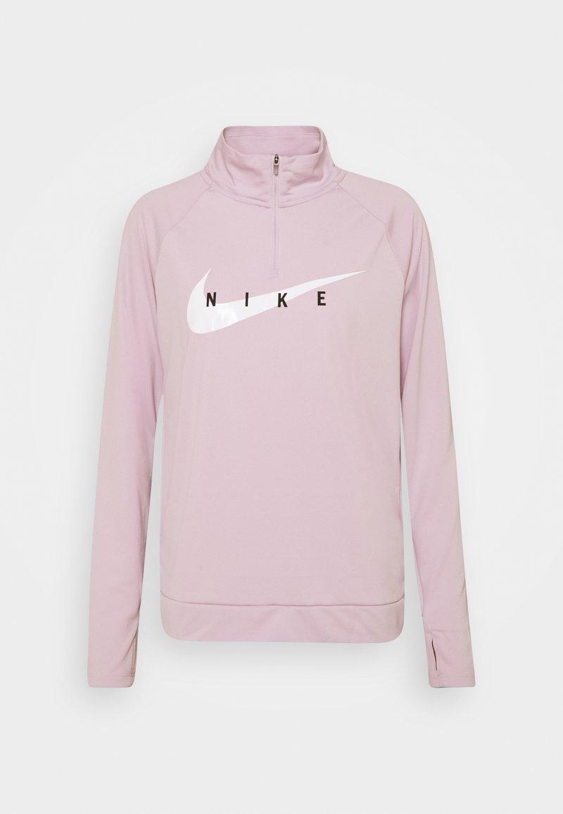 Nike Performance - RUN MIDLAYER - Sports shirt - iced lilac/white