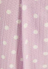 Bershka - Spodnie materiałowe - mauve - 5