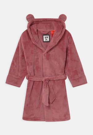 GIRLS HOODED LONG SLEEVE GOWN - Župan - very berry