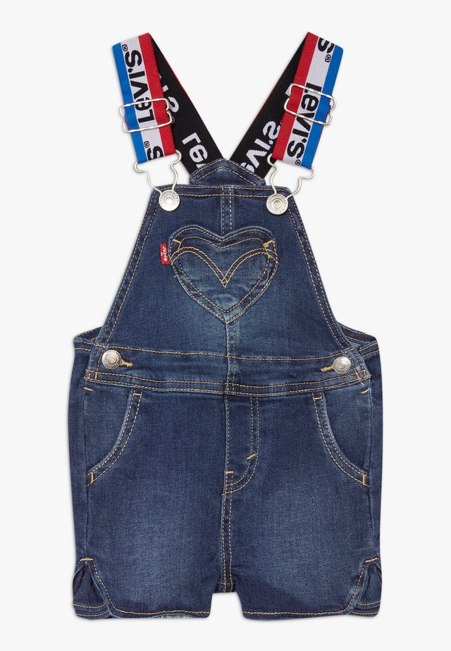 DENIM SHORTALL - Dungarees - cruise
