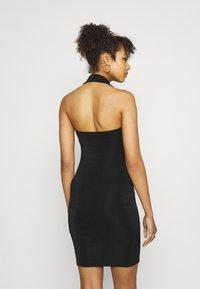 Gina Tricot - DOLLY HALTERNECK DRESS - Cocktail dress / Party dress - black - 2