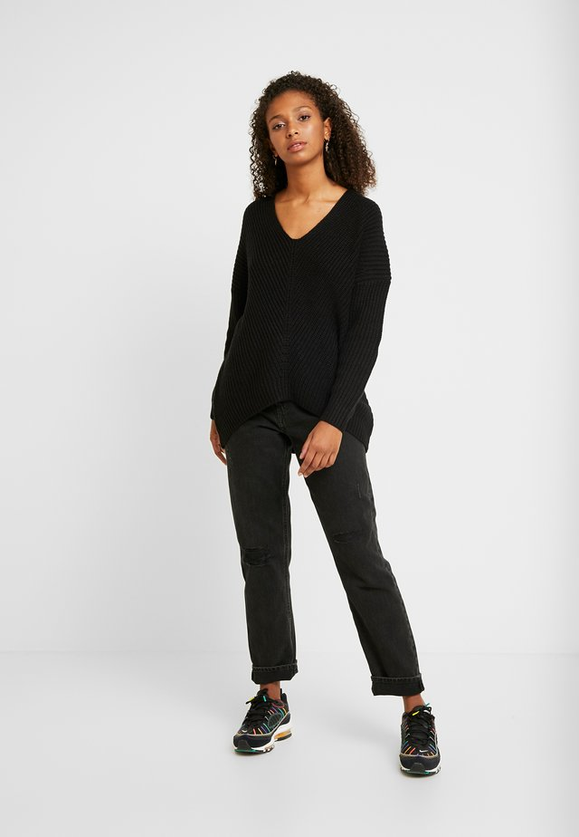 ONLCELTINA LONG - Jersey de punto - black