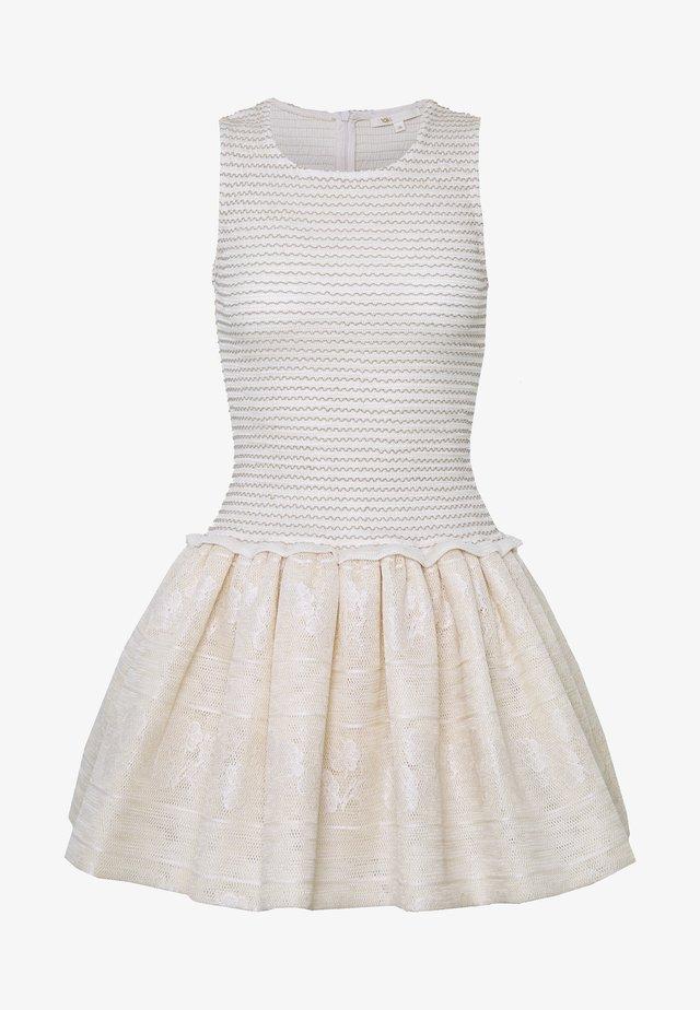ROLLAND - Shift dress - beige clair
