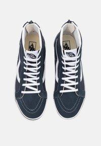 Vans - SK8 ZIP - High-top trainers - india ink/true white - 3
