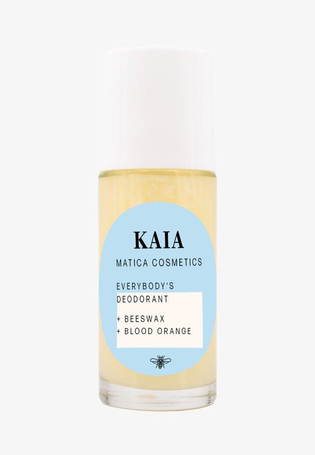 KAIA DEOROLLER BLUTORANGE - Deodorant - weiß