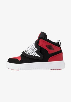 SKY 1 UNISEX - Zapatillas de baloncesto - black/white/gym red