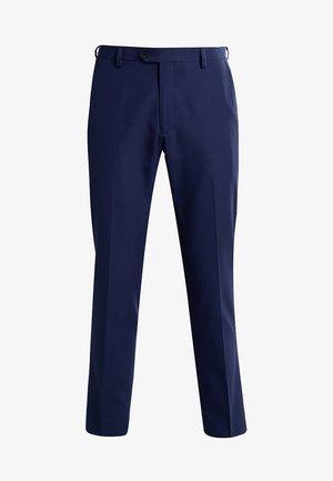 SUIT TROUSERS - Suit trousers - dark blue