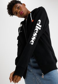 Ellesse - SERINATAS - Zip-up hoodie - black - 0