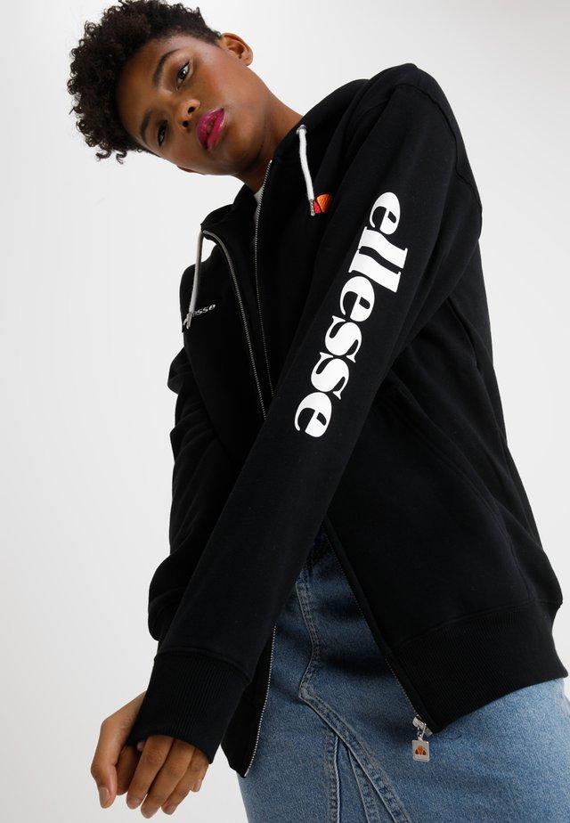 SERINATAS - Zip-up hoodie - black