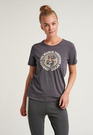 HMLBLAKE - Print T-shirt - magnet