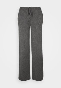 ESSENTIALS WIDE LEG PANT - Trousers - grey