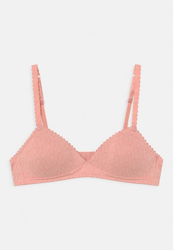 WIRE-FREE PADDED BRA - T-shirt bra - blush