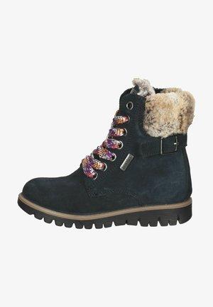 Vinterstøvler - dunkelblau