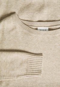 Vila - VIRIL  - Jumper - natural melange - 2