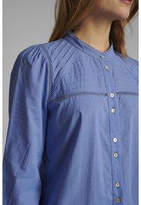 Nümph - Button-down blouse - wedgewood - 2