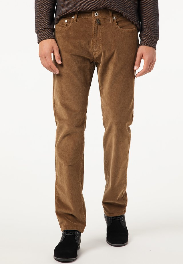 Trousers - hellbraun