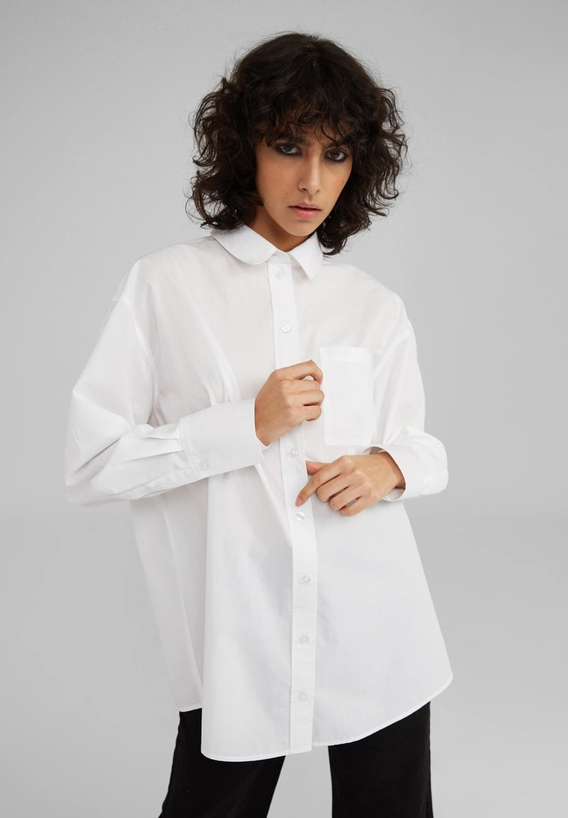 EDITED - Button-down blouse - white