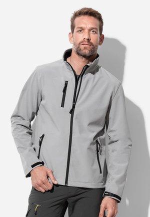 Soft shell jacket - dolphin grey