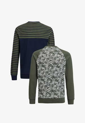 2-PACK - Long sleeved top - army green