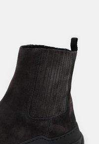 WEEKEND MaxMara - GENEPI - Platform ankle boots - dark grey - 6
