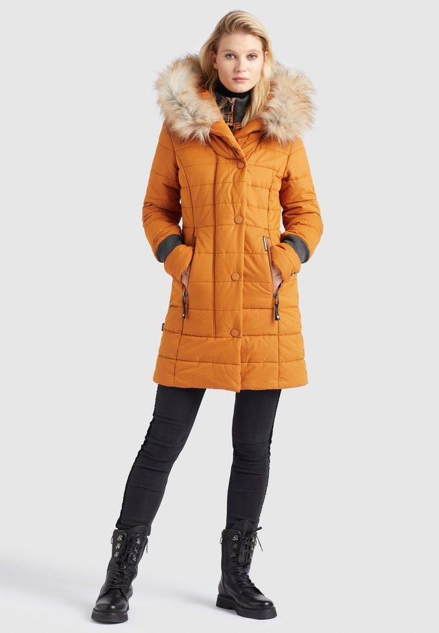 KUBRA - Płaszcz zimowy - karamell