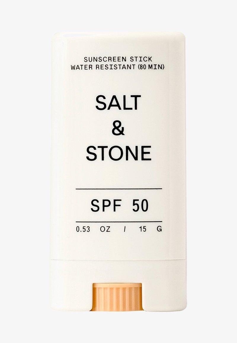 Salt & Stone - SPF 50 SUNSCREEN FACE STICK - Solskydd - -