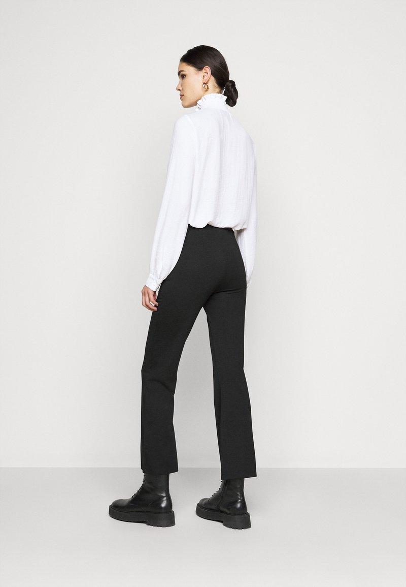 Even&Odd Tall - FLARED PUNTO PANTS - Leggings - Trousers - black