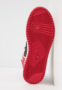 Ellesse - ASSIST - Baskets montantes - black/red/orange - 4