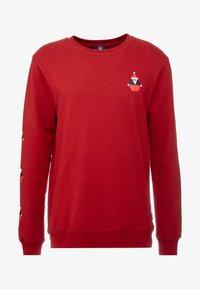 Volcom - SANTASTONE CREW - Sweatshirt - deep red - 4