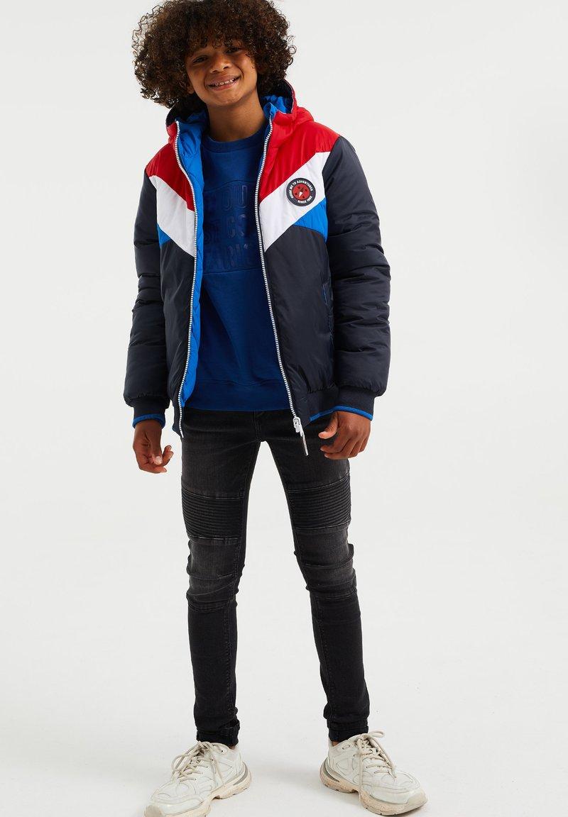 WE Fashion - reversibel - Winter jacket - blue