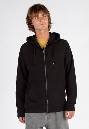 FREELEVEN - Sweater met rits - black