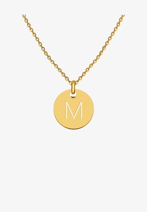 BUCHSTABE M - Ketting - gold