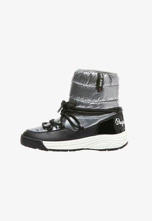 JARVIS PUFF - Bottes de neige - black/grey
