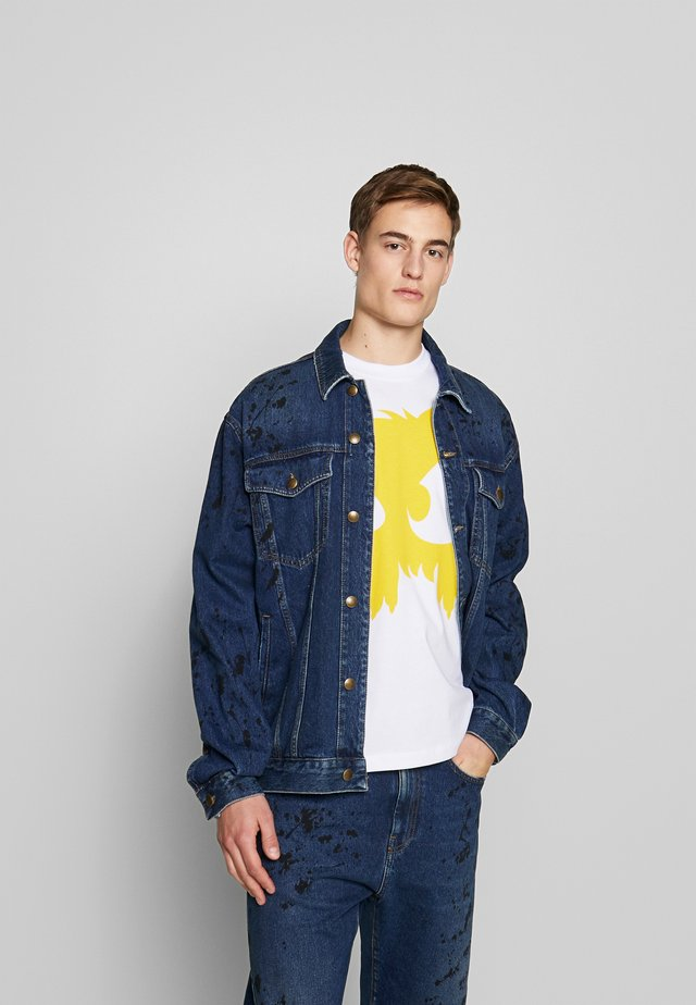 PHIL JACKET - Giacca di jeans - vintage blue painted
