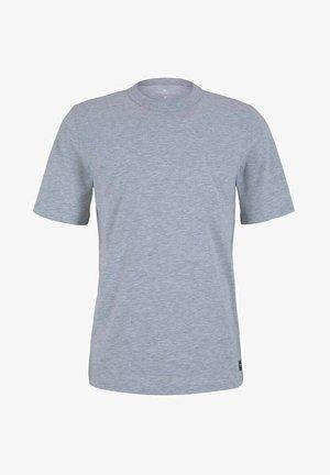 Basic T-shirt - light stone grey melange