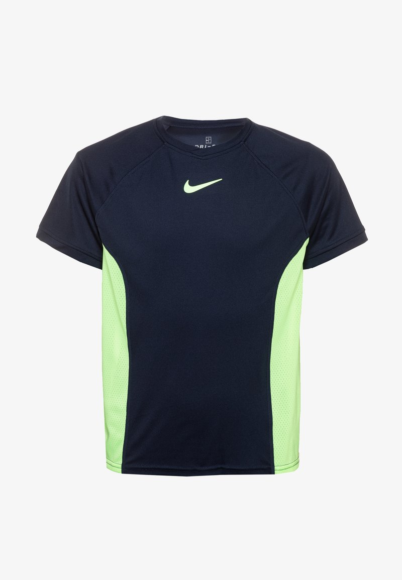 Nike Performance - DRY - T-shirts print - obsidian/ghost green